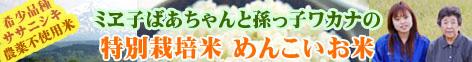 おいしい無農薬米